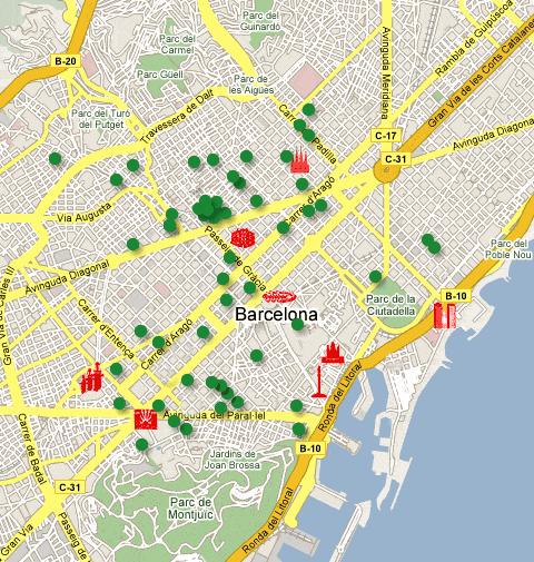 mapa pisos